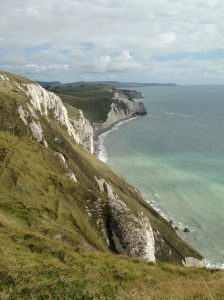 Chalky cliffs