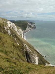 Chalky cliffs